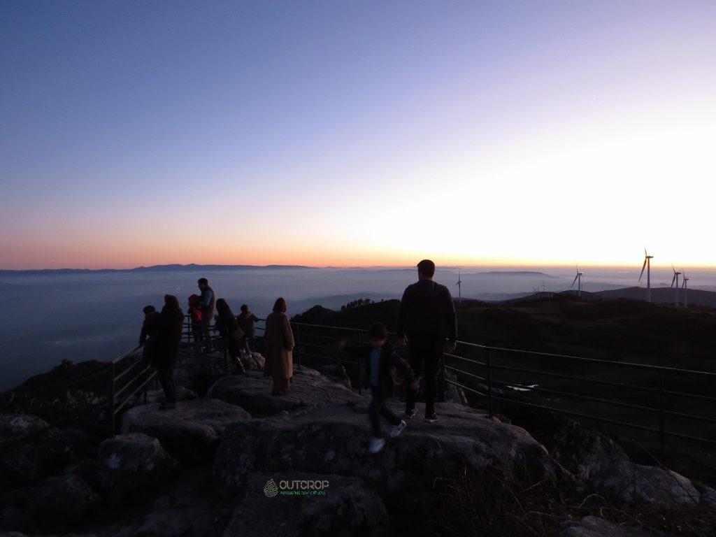 No ponto mais alto da Serra do Caramulo com a Outcrop Geoturismo