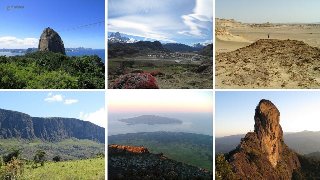 Geologia e geoformas pelo mundo